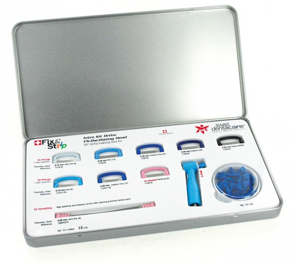 SWISS Denta Care Fix & Strip Intro Kit für Prophylaxe-Handstück