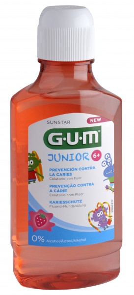 GUM Junior Monster Mundspülung (6+)