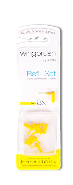 wingbrush Refill Set fein